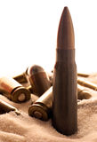 弹药沙漠 库存照片