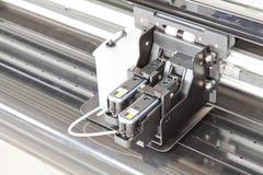 弹药筒墨水打印机 库存图片