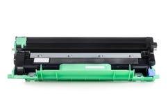 弹药筒查出的激光打印机白色 库存照片