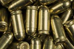 弹药筒9 mm 图库摄影