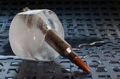 冻弹药 免版税库存图片