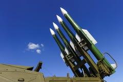 弹道火箭发射器 库存照片