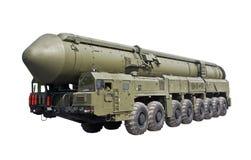 弹道洲际的m导弹topol 免版税库存图片