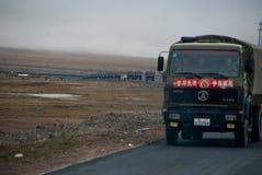 强制西藏 库存图片