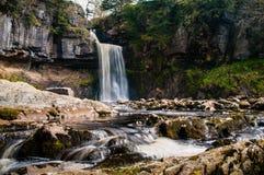 强制thornton瀑布 库存照片