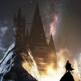 强大城堡 免版税库存图片