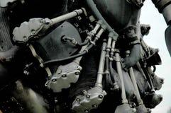 强大特写镜头的引擎 免版税图库摄影
