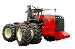 强大的农业拖拉机 免版税库存图片