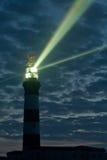 强大的灯塔 免版税库存照片