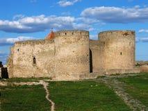 强大bilhorod的堡垒 免版税库存照片