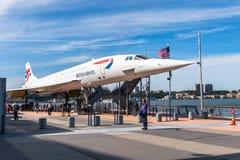 强悍海、空气和太空博物馆,纽约 库存图片