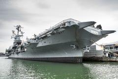 强悍的USS 免版税库存图片