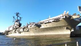 强悍的USS 库存照片
