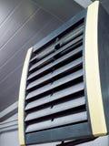 强有力的工业气流加热器 免版税库存图片