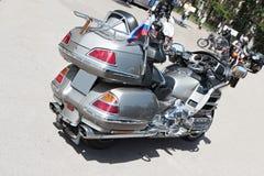 强有力的摩托车 免版税库存图片