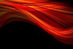 强有力的波浪背景设计例证 免版税库存照片