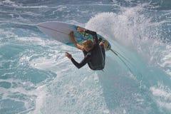 强烈的海浪 图库摄影