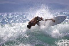 强烈的海浪 免版税库存图片