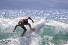 强烈的海浪 库存图片