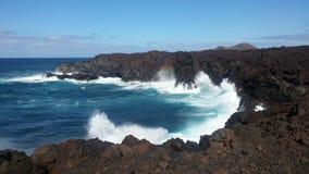 强烈的海洋 库存图片