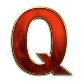 强烈的q 免版税库存照片