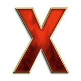 强烈的x 免版税图库摄影