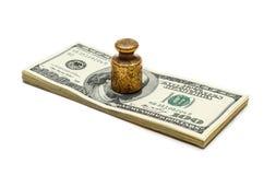 强的货币 图库摄影