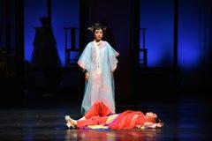 强迫由她死亡入宫殿现代戏曲女皇在宫殿 免版税库存图片