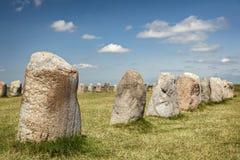 强麦酒常设石头瑞典 图库摄影