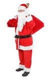归因于克劳斯・圣诞老人白色 免版税库存照片