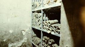归档皇家酿酒厂, Oplenac,塞尔维亚 库存照片
