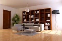当代室内空间开会 免版税图库摄影