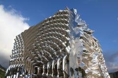 当代雕塑在挪威 免版税库存图片