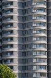 当代高层住房块英国 库存图片