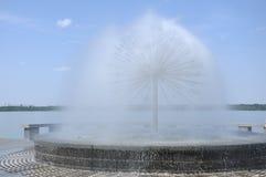 当前喷泉的图象 免版税库存图片