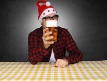 当前的啤酒 库存图片