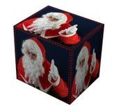当前s圣诞老人 免版税库存照片