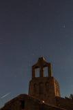 当圣所是夜照片的主演 库存照片