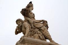 当在巴黎 从凡尔赛的循环寿命雕塑 图库摄影