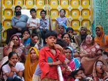 年轻当地印地安人 免版税库存照片