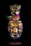 当地泰国样式面具 免版税库存图片