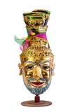 当地泰国样式面具 图库摄影