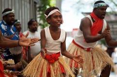 当地澳大利亚的舞蹈演员 库存照片