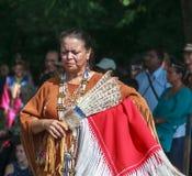 当地美洲印第安人妇女 免版税图库摄影