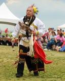 当地美洲印第安人舞蹈家 免版税图库摄影