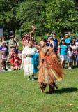 当地美洲印第安人节日 库存照片