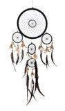 当地美洲印第安人dreamcatcher 库存图片