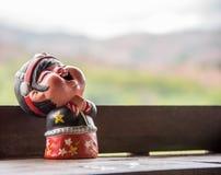 当地陶瓷玩偶 免版税库存照片