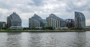 当代不动产开发在西部伦敦 库存图片