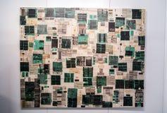 当代伊斯坦布尔艺术展2016年 免版税库存照片